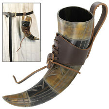 Viking Renaissance Ale of Song Dinner Hall Drinking Horn