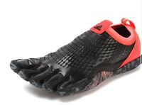 Adidas adipure trainer 1.1 New Mens Trainers Barefoot in Black / Red All Sizes
