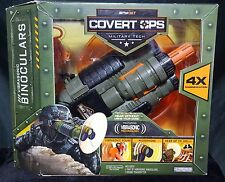 Spynet Covert Ops Vibrasonic Binoculars Microphone 4x Magnification Hear 100ft