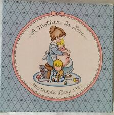 Vintage Joan Walsh Anglund Collectors Plate Mothers Day 1987 Avon Gift New n Box