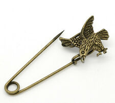 Bronze Colour Eagle Design Decorative Pin ideal for Wrap, Shawl, Cardigan etc...