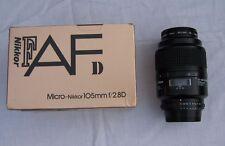 Nikon Nikkor Micro Lente Af 105mm f/2.8 D