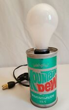 VTG MOUNTAIN DEW Can Lamp ya-hoo PepsiCo