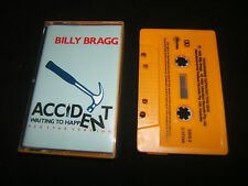 BILLY BRAGG ACCIDENT WAITING TO HAPPEN AUSTRALIAN CASSINGLE CASSETTE TAPE