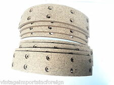 Ford Consul Zephyr 1951-55 & Austin A40 A50 1953-58 New Brake Shoe Linings 855