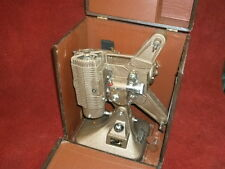 Antique Keyston 8mm Projector w/spare Reel and storage Box
