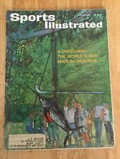 Vintage Sports Illustrated The Worlds Best Marlin Grounds Fishing April 22, 1963