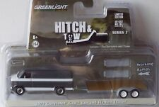 GreenLight 1:64 - 1977 Chevrolet g20 van and plancha tráiler-Hitch... OVP -