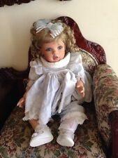 Virginia Turner Toddler Baby Doll Limited Edition  # 23/80 Cloth & Vinyl