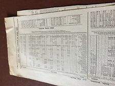 m7-4 ephemra 1889 leeds the north train timetable feb to april schedule