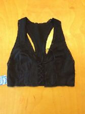 Free People Lace Up Corset Bra Top NWT $58.00 size XS S27