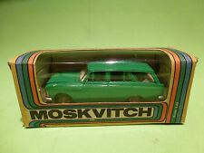 USSR  1:43  MOSKVITCH STATION GREEN  -  IN ORGINAL BOX.  -  IN GOOD CONDITION