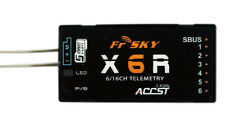 FrSky X6R 6/16Channel With Telemetry Receiver SBUS W/Smart Port Standard Antenna