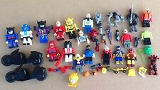 NON Lego miniature figures lot building part piece character odd ball toy mini