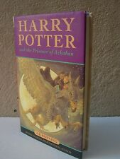 Harry Potter and the Prisoner of Azkaban Hardback First Edition Second Printing