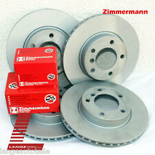 Zimmermann KIT Bremsen Beläge Jaguar S-Type XF XJ XK 355mm VA 326mm HA KIT