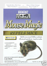 4 Pack BONIDE Mouse Magic Mice Repellent Safe for Pets & Kids 10'x14' #865 NEW