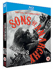 Sons of Anarchy - Season 3 [Blu-ray], Very Good Condition DVD, Maggie Siff, Mark