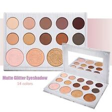 14 Colors BH Cosmetics Makeup Eye Shadow Palette Carli Bybel Matte & Highlighter