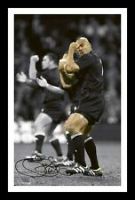 JONAH LOMU - NEW ZEALAND ALL BLACKS AUTOGRAPHED SIGNED & FRAMED PP POSTER PHOTO