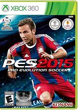 NEW Pro Evolution Soccer PES 2015 (Xbox 360, 2014)