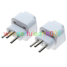 2 x Switzerland SWISS Travel Adapter SEV 1011 Type J Multi Receptacle
