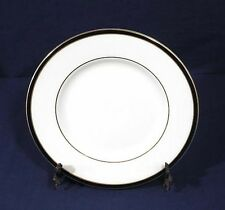 Minton Fine Bone China SATURN Black Royal Doulton Salad Plate 8-1/8""