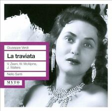 Verdi: La traviata (CD, Nov-2011, 2 Discs, Myto Records)