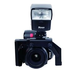Metal Camera Flash Bracket with Swivel Flash Arm NEW Eliminate Red Eye