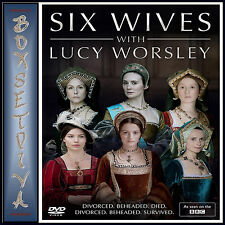 SIX WIVES - WITH LUCY WORSLEY  - BBC SERIES  **BRAND NEW DVD ***