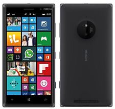 Nokia Lumia 830 AT&T Unlocked Smartphone 16GB Windows Smartphone Black Fair