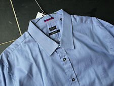 Paul Smith LONDON LS SLIM fit Shirt  Double Cuff - Size 18 / 45  - p2p 23""