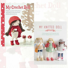 My Crochet Doll & My Knitted Doll Collection 2 Books Set New Paperback