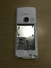 New Genuine Original Nokia 6300 Rear White Chassis Housing Fascia Cover Black