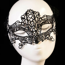 Women exy Lace Hollow Eye Face Mask Masquerade Ball Fancy Costume Dress h8