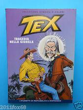 tex n. 44 collezione storica a colori tragedia nella giungla fumetti repubblica