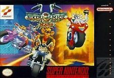 ***BIKER MICE FROM MARS SNES SUPER NINTENDO GAME COSMETIC WEAR~~~