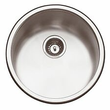 Abey Yarra ROUND BAR SINK SINGLE BOWL Stainless Steel- 450x170mm *Aust Made