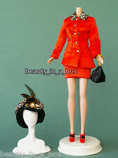 Stylish Smart Classy Sassy Satiny Suit Purse Shoes Fashion for Barbie Doll
