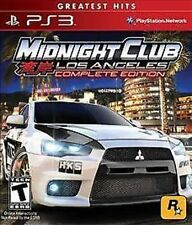 Midnight Club: Los Angeles Complete Edition USED SEALED (Sony PlayStation 3) PS3