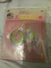 Sailor moon, key chain with moon wand