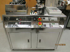 Karl Suss RC8 THP 200mm Spin Coater & Progammable Hot Plate, CE Serial Plate.