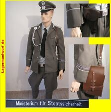 NVA  Uniform Fasching Staatssicherheit DDR Fetisch Kostüm Ostalgie Mottoparty