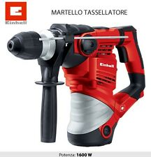 TRAPANO MARTELLO TASSELLATORE PERFORATORE 32MM 1600W EINHELL TH-RH 1600