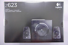 Logitech Z623 200W THX Certified 2.1 Computer Speakers w/Subwoofer NEW/SEALED