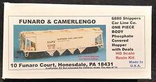 Funaro F&C 6880   SHIPPERS CAR LINE  Phosphate Covered Hopper Fertilizer 1-PIECE