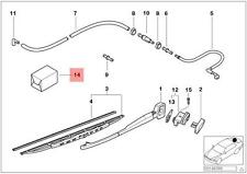 Genuine BMW 5 Series E39 Wagon Rear Wiper Hose Line Repair Kit OEM 61688254288
