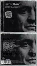 """JOHNNY CASH """"Presents A Concert Behind Prison Walls"""" (CD) 2003 NEUF"""