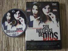 DVD SIN NOTICIAS DE DIOS PENELOPE CRUZ VISTORIA ABRIL USADA EN BUEN ESTADO