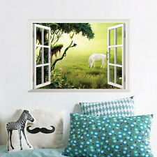 Horse DIY 3D Window Removable Wall Sticker Art Vinyl Decals Home Decor Mural NEW